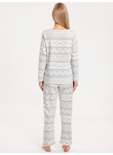 LC Waikiki Pijama Takım Gri